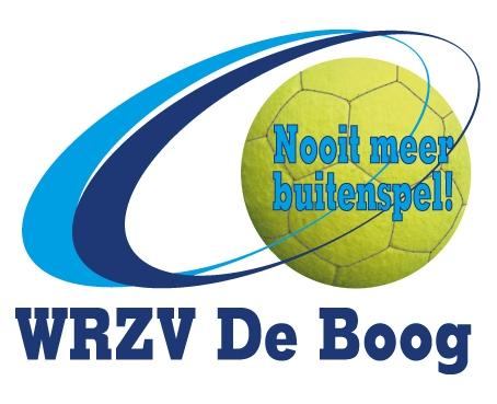 zaalvoetbal zwolle WRZV De Boog logo met lijnen