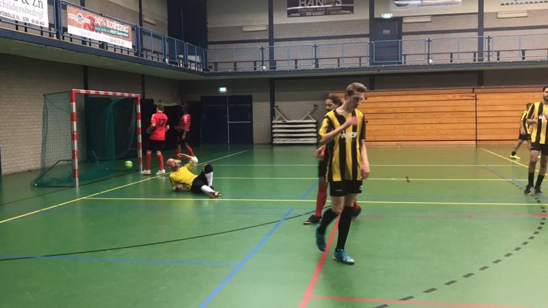 zaalvoetbal zwolle WRZV Dynamo Willem Bel