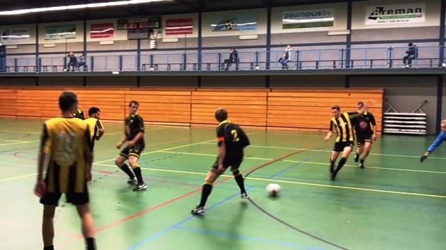zaalvoetbal zwolle WRZV VSCO Ruben Meijer in vorm