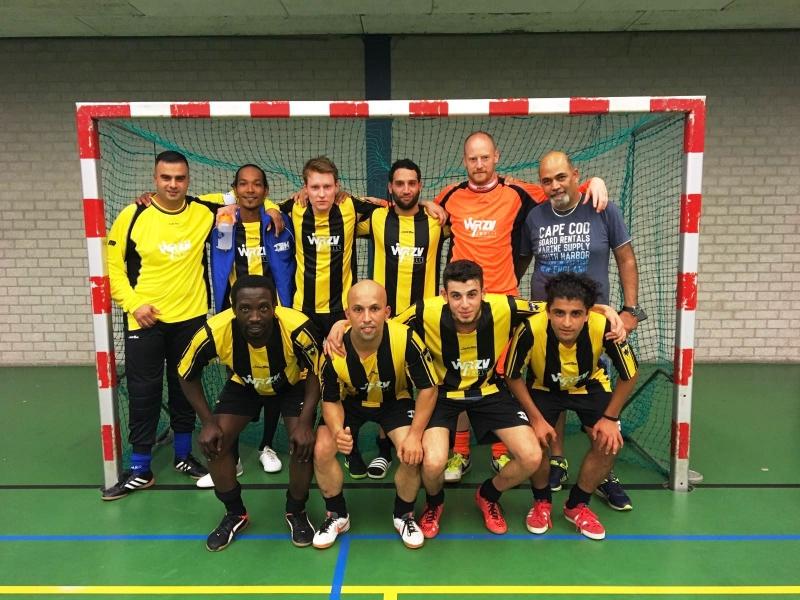 zaalvoetbal zwolle WRZV Zwolle 5 september 2016 tegen ZVV Twente